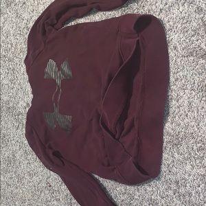 Under armor sweatshirt, barely worn, size xs